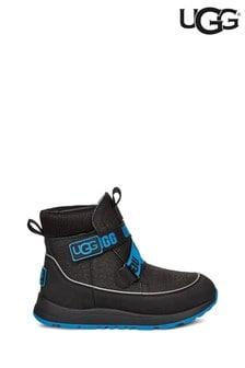 UGG® Black/Blue Tabor Velcro Boots