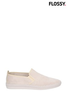 Flossy Cream Vendarval Slip-On Shoes