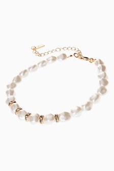 Pearl Effect Anklet