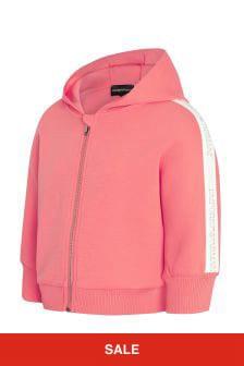 Emporio Armani Pink Sweat Top
