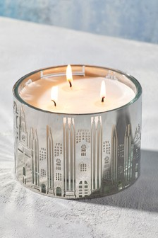 Collection Luxe Milan Scene 3 Wick Candle
