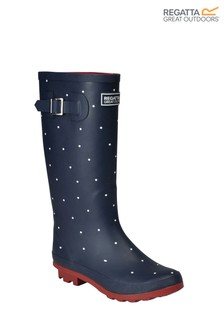 Regatta Blue Lady Fairweather II Wellies