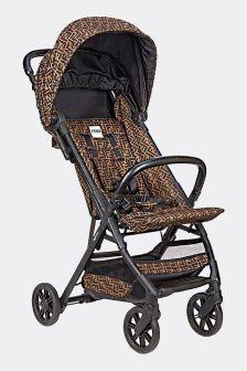 Brown Zucca Logo Baby Stroller
