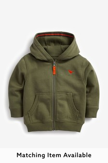 Essential Zip Through Hoodie (3mths-7yrs)