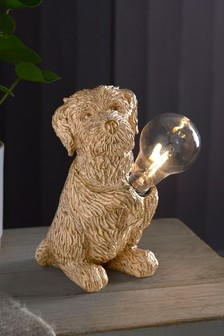 Solar Charlie the Cockapoo Dog Light