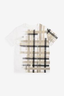 Disperse Check T-Shirt (3-16yrs)