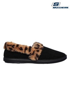 Skechers® Black Cozy Campfire Frisky Gal Slippers