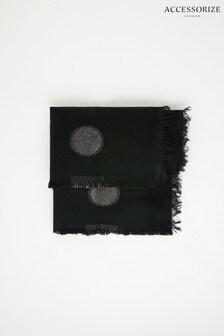 Accessorize Polka Dot Blanket Scarf