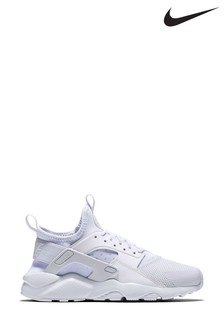 Nike White Huarache Youth Trainers
