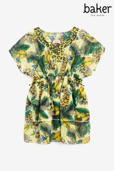 Baker by Ted Baker Tropical Tiered Kaftan