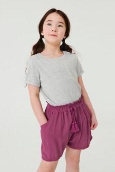Tassel Hem Shorts (3-16yrs)
