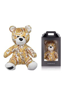 Gold Bear Soft Toy