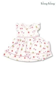 Kissy Kissy White Berry Ballet Fruit Dress Set