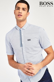 BOSS BORI Short Sleeve Logo Shirt