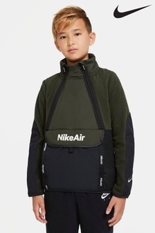 Nike Khaki Air Fleece Top