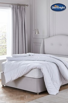 Pure Cotton 4.5 Tog Duvet by Silentnight
