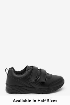 Leather Strap Touch Fastening Trainers