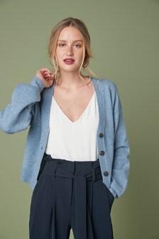 Soft Short Cardigan