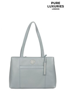Pure Luxuries London Mist Leather Handbag