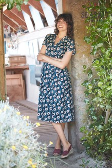 Seasalt Tall Blue Top Terrace Dress