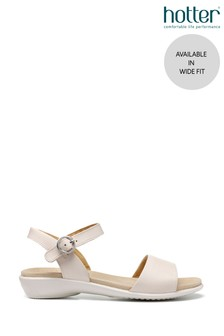 Hotter Tropic Wide Fit Buckle Fastening Open Sandals