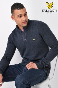 Lyle & Scott Funnel Neck Jumper