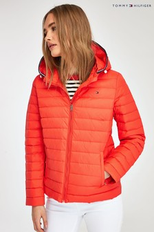 Tommy Hilfiger Pink Lightweight Packable Down Jacket