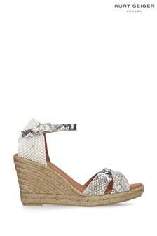 Kurt Geiger London Cream Leona Shoes