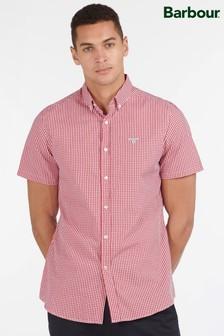 Barbour® Short Sleeve Gingham Check Shirt