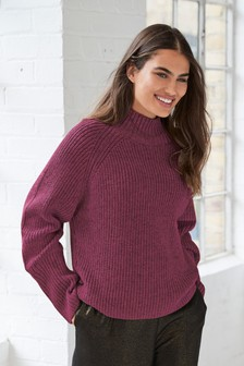 Neppy Funnel Neck Jumper