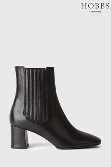 Hobbs Black Imogen Panel Boots