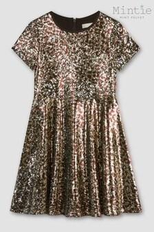 Mintie by Mint Velvet Animal Sequin Dress