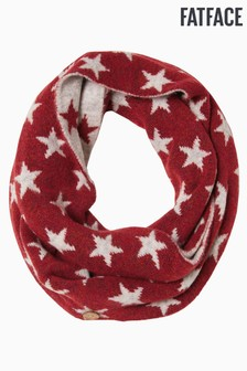 FatFace Red Star Snood