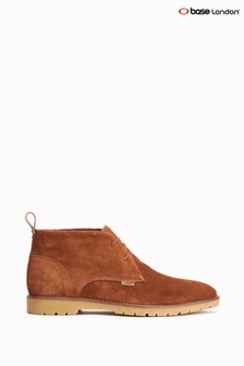 Base London Cognac Miller Chukka Boots