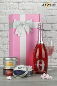 Bottega Zero Alcohol Sparkling Rosé Wine Gift by Le Bon Vin