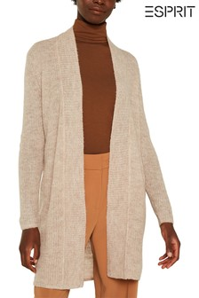 Esprit Brown Cosy Knitted Cardigan