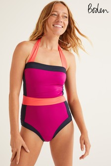 Boden Purple Santorini Swimsuit