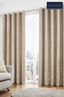 Sagano Eyelet Curtains by Curtina