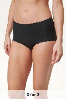 No VPL Scallop Edge Knickers