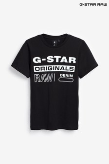 G-Star Black Logo T-Shirt