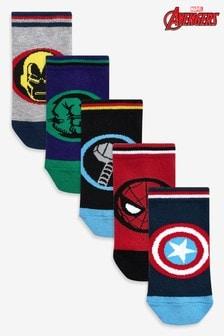 5 Pack Marvel® Avengers Socks (Older)