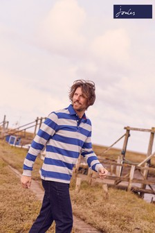 Joules Blue Onside Rugby Shirt