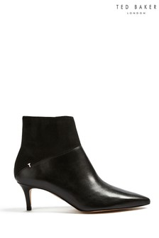 Ted Baker Black Patent Leather Boots