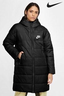 Nike Black Padded Parka