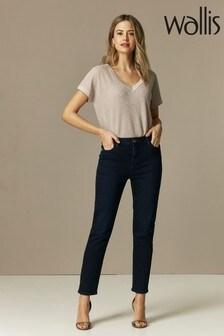 Wallis Jeans mit schmalem Bein in Kurzgrößen, blau