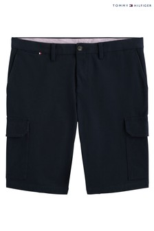 Tommy Hilfiger Blue Tailored Cargo Shorts