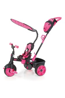 Little Tikes 4-in-1 Trike Deluxe Edition - Neon Pink