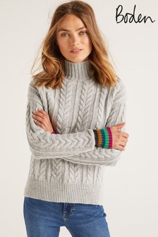 Boden Grey Winifred Jumper