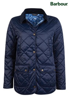 Barbour®/Laura Ashley Lightweight Quilted Spruce Jacket