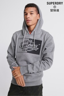 Superdry Brand Language Hoody